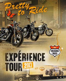 Experience Tour Harley Davidson 2013