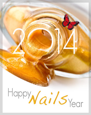 Happy Nails Year 2014