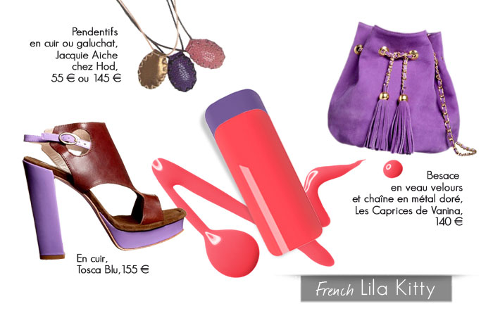 French 'Lila Kitty'