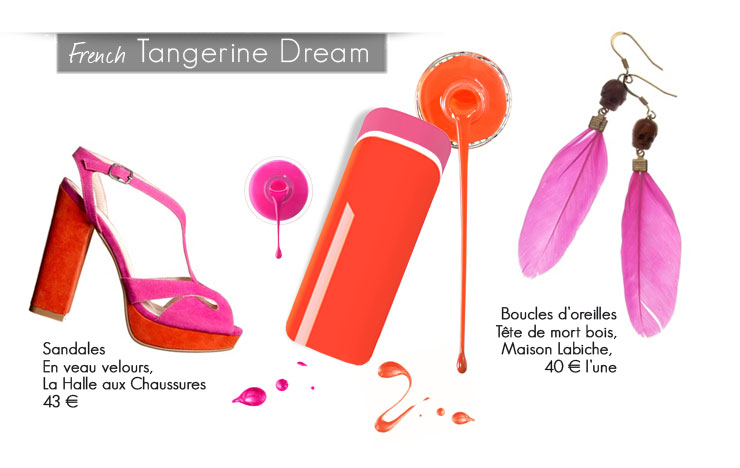 Déco 'Tangerine Dream'