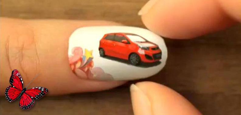 Kia Nail Art