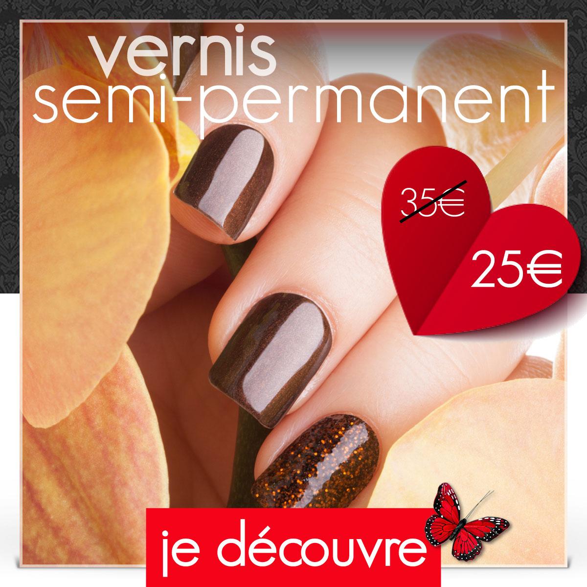 Vernis semi-permanent